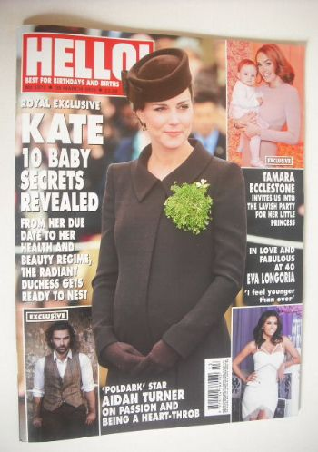 <!--2015-03-30-->Hello! magazine - The Duchess Of Cambridge cover (30 March