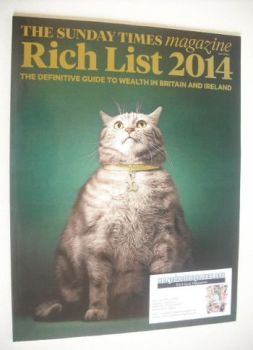 The Sunday Times magazine - Rich List 2014 (18 May 2014)
