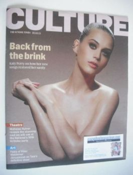 Culture magazine - Katy Perry cover (20 October 2013)