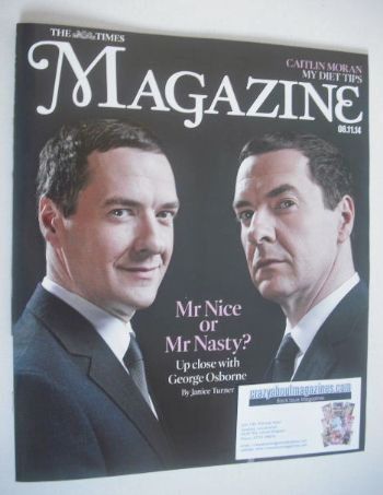 <!--2014-11-08-->The Times magazine - George Osborne cover (8 November 2014
