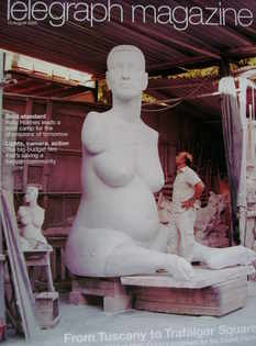 <!--2005-08-13-->Telegraph magazine - Body Of Work cover (13 August 2005)