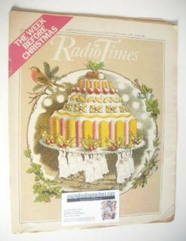 Radio Times magazine - The Week Before Christmas Issue (17-23 December 1977)