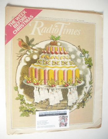 <!--1977-12-17-->Radio Times magazine - The Week Before Christmas Issue (17
