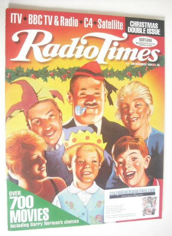 <!--1994-12-17-->Radio Times magazine - Christmas Issue (17-30 December 199