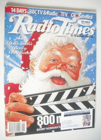 <!--1995-12-16-->Radio Times magazine - Christmas Issue (16-29 December 199