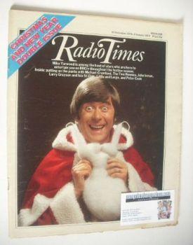 Radio Times magazine - Mike Yarwood cover (23 December 1978 - 5 January 1979)