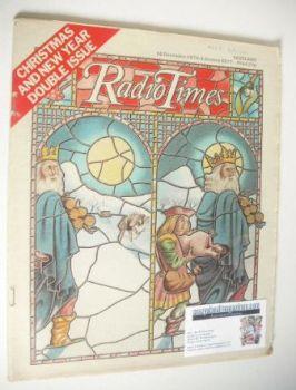 Radio Times magazine - Christmas & New Year Issue (18 December 1976 - 1 January 1977)