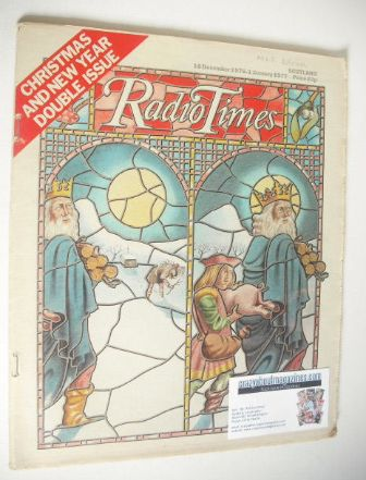<!--1976-12-18-->Radio Times magazine - Christmas & New Year Issue (18 Dece
