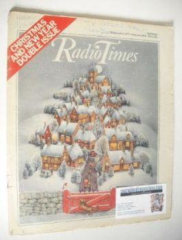 Radio Times magazine - Christmas & New Year Issue (24 December 1977 - 6 January 1978)