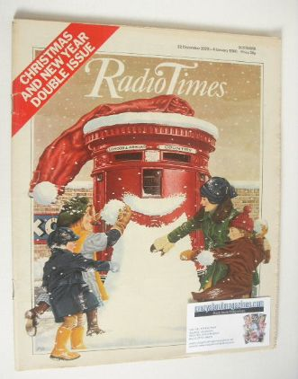 <!--1979-12-22-->Radio Times magazine - Christmas and New Year Issue (22 De