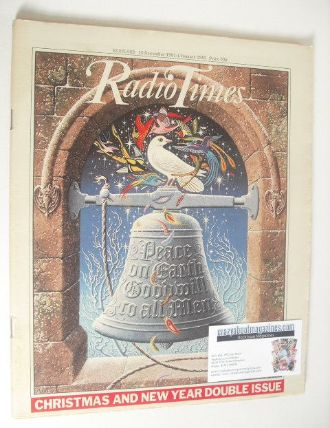 <!--1981-12-19-->Radio Times magazine - Christmas and New Year Issue (19 De