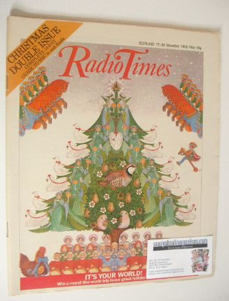 <!--1983-12-17-->Radio Times magazine - Christmas Issue (17-30 December 198