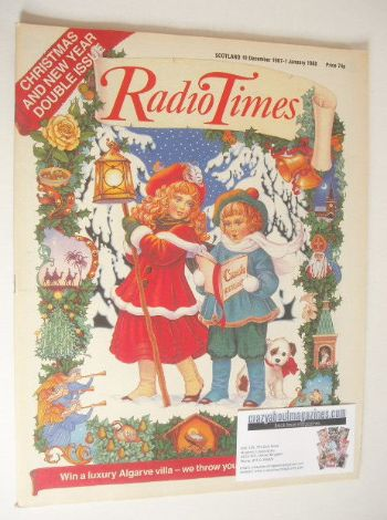 <!--1987-12-19-->Radio Times magazine - Christmas And New Year Issue (19 De
