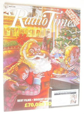 <!--1990-12-22-->Radio Times magazine - Christmas and New Year Issue (22 De