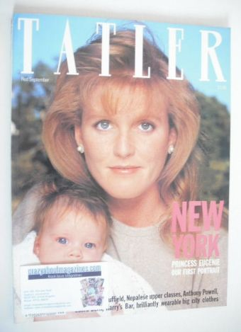 <!--1990-09-->Tatler magazine - September 1990 - Sarah Ferguson and Princes