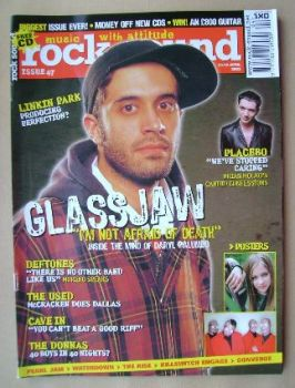 Rock Sound magazine - Daryl Palumbo cover (April 2003)