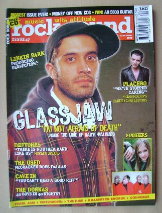 <!--2003-04-->Rock Sound magazine - Daryl Palumbo cover (April 2003)