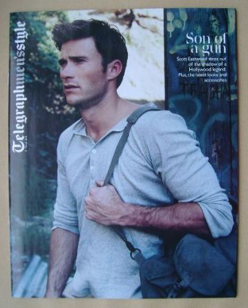 Telegraph Style magazine - Scott Eastwood cover (21 March 2015)