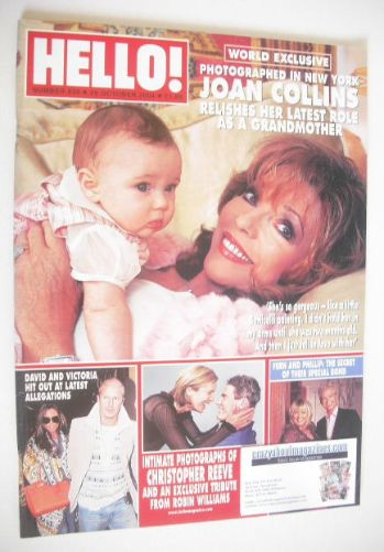 <!--2004-10-26-->Hello! magazine - Joan Collins cover (26 October 2004 - Is