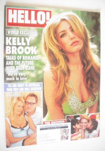 <!--2004-12-14-->Hello! magazine - Kelly Brook cover (14 December 2004 - Is