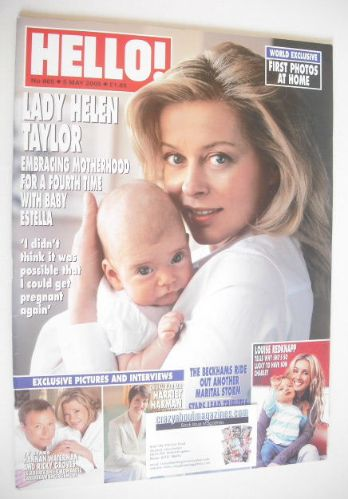 <!--2005-05-05-->Hello! magazine - Lady Helen Taylor cover (5 May 2005 - Is