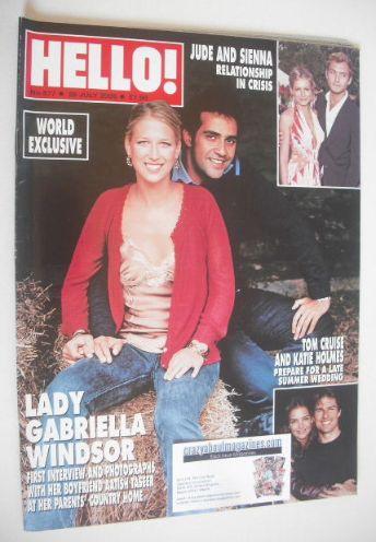 <!--2005-07-28-->Hello! magazine - Lady Gabriella Windsor and Aatish Taseer