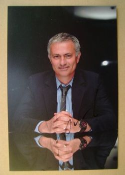 Jose Mourinho autograph