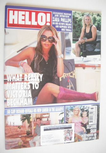 <!--2005-08-25-->Hello! magazine - Victoria Beckham cover (25 August 2005 -