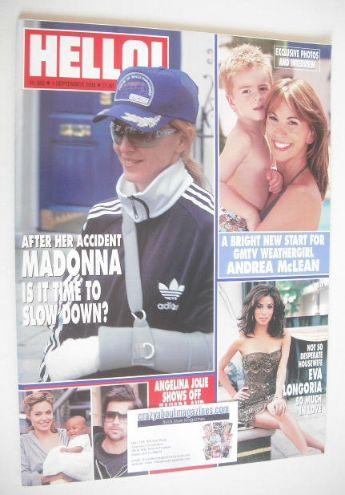 <!--2005-09-01-->Hello! magazine - Madonna cover (1 September 2005 - Issue