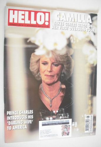 <!--2005-11-17-->Hello! magazine - Duchess of Cornwall cover (17 November 2
