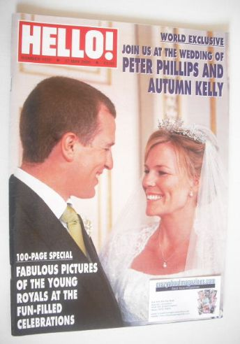 <!--2008-05-27-->Hello! magazine - Peter Phillips and Autumn Kelly wedding