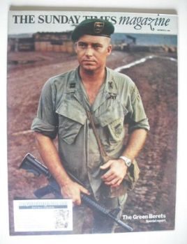 The Sunday Times magazine - The Green Berets cover (9 November 1969)