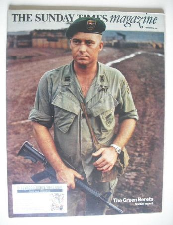 <!--1969-11-09-->The Sunday Times magazine - The Green Berets cover (9 Nove