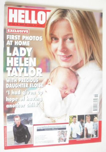 <!--2003-05-20-->Hello! magazine - Lady Helen Taylor and daughter Eloise co