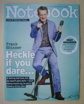 Notebook magazine - Frank Skinner cover (27 April 2014)