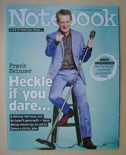 <!--2014-04-27-->Notebook magazine - Frank Skinner cover (27 April 2014)