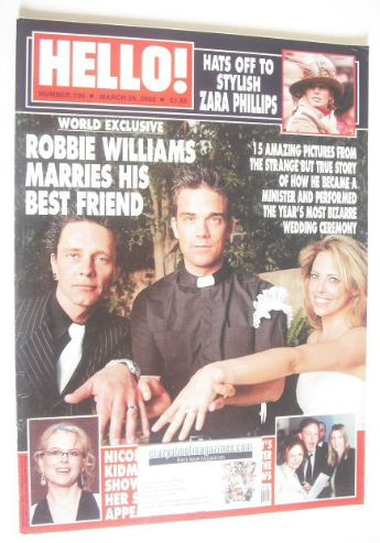 <!--2002-03-26-->Hello! magazine - Billy Morrison, Jennifer Holliday and Ro