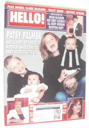 <!--2002-01-22-->Hello! magazine - Patsy Palmer cover (22 January 2002 - Is