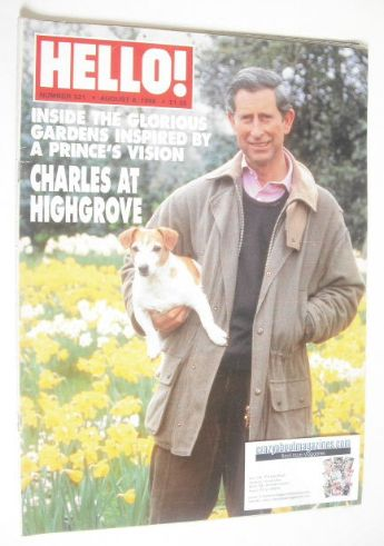 <!--1998-08-08-->Hello! magazine - Prince Charles cover (8 August 1998 - Is