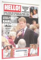 <!--1998-07-11-->Hello! magazine - Earl Spencer cover (11 July 1998 - Issue 517)