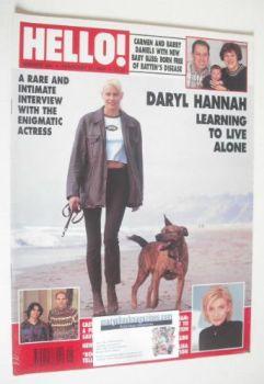 <!--1996-02-24-->Hello! magazine - Daryl Hannah cover (24 February 1996 - Issue 395)