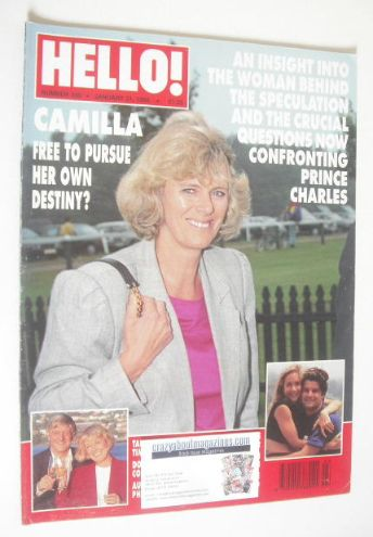<!--1995-01-21-->Hello! magazine - Camilla Parker Bowles cover (21 January