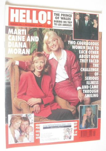 <!--1994-11-12-->Hello! magazine - Marti Caine and Diana Moran cover (12 No