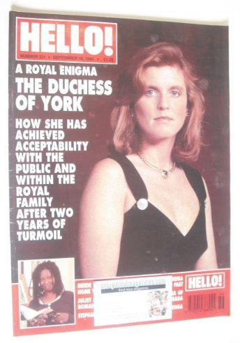 <!--1994-09-10-->Hello! magazine - The Duchess Of York cover (10 September