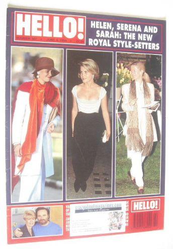 <!--1994-06-04-->Hello! magazine - Lady Helen Taylor, Sarah Armstrong-Jones