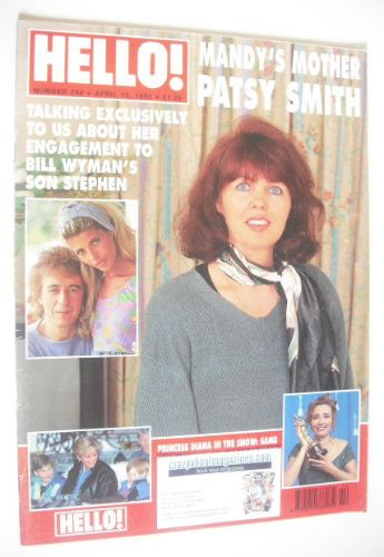 <!--1993-04-10-->Hello! magazine - Patsy Smith cover (10 April 1993 - Issue