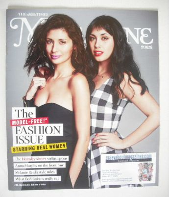 The Times magazine - The Hemsley sisters cover (21 February 2015)