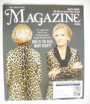<!--2013-09-07-->The Times magazine - Mary Berry cover (7 September 2013)