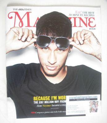 <!--2014-11-01-->The Times magazine - Neymar cover (1 November 2014)