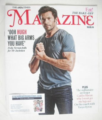 <!--2014-05-10-->The Times magazine - Hugh Jackman cover (10 May 2014)